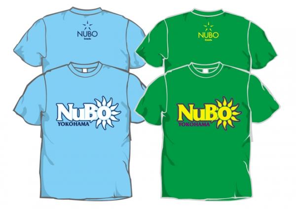 NUBO logo T-shirts【新色追加!!】