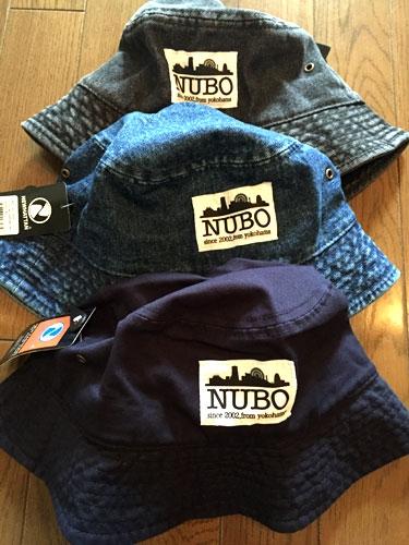 NUBO BUCKET HAT【新色追加!!】