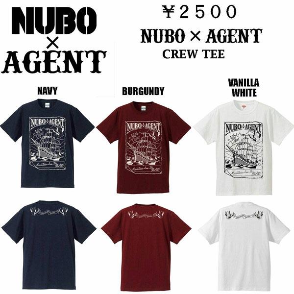 NUBO×AGENT CREW Tシャツ