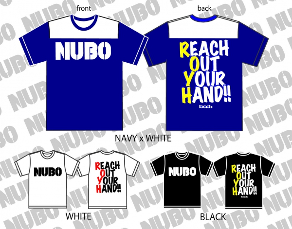 NUBO オリジナルロゴTシャツ 2016