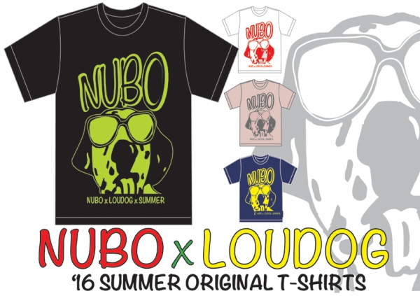 "NUBO×LOUDOG""16 SUMMER ORIGINAL T-SHIRTS"""