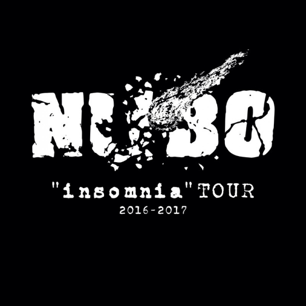 """NUBO""""インソムニア""""TOUR 2016-2017 ステッカー"""