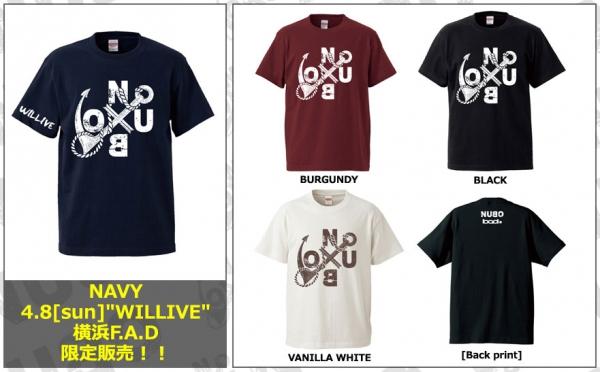 NUBO LOGO Tシャツ 2018