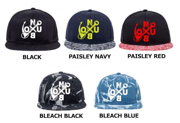 NUBO LOGO snap back cap