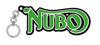 NUBO logo アクリルキーホルダー